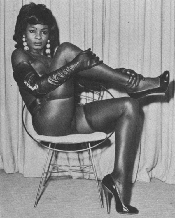 Ebony girl stockings vintage